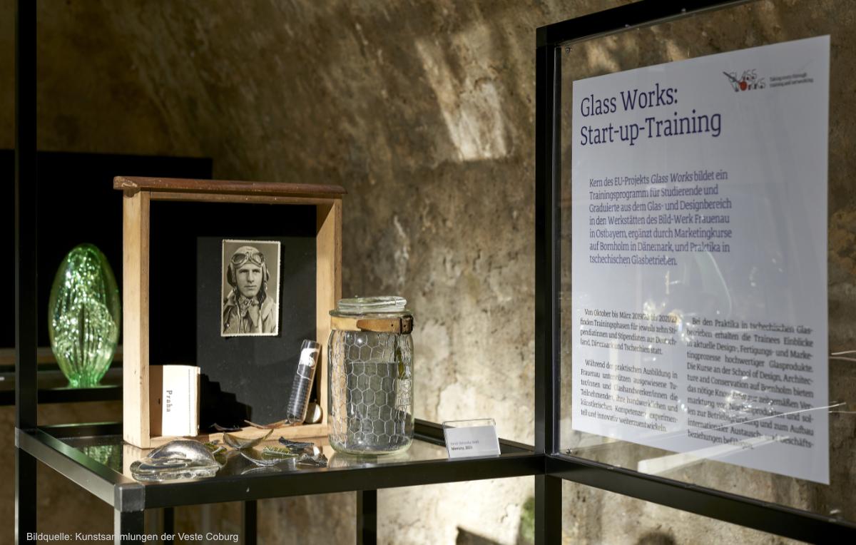 Wiedereröffnung der Kunstsammlungen der Veste Coburg mit neuer Sonderausstellung GLASS WORKS im LABOR der Veste Coburg