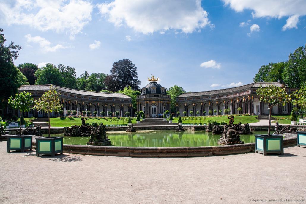 Schlösser und Burgen in Franken Eremitage Bayreuth