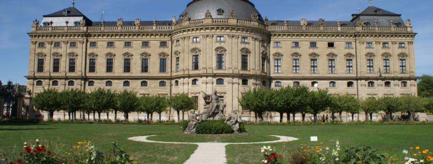 Schlösser und Burgen in Franken Residenz Würzburg