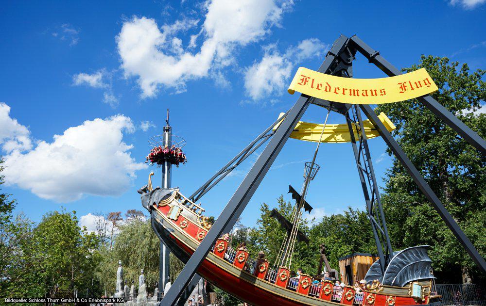 Saisonstart im Erlebnispark Schloss Thurn am 12. Juni