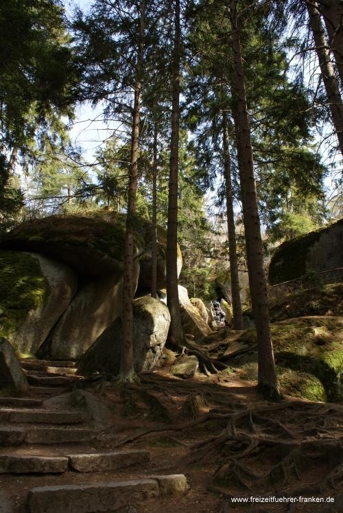 Felsenlabyrinth Luisenburg Wunsiedel