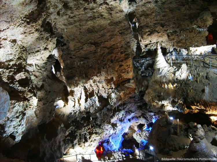 Riesensaal der Teufelshöhle in Pottenstein
